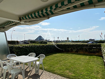 Appartement face mer (6 personnes) au Touquet Paris Plage